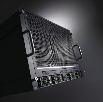 Als Spitzenprodukt im Midrange-Bereich für Mission-Critical-Anwendungen schickt Fujitsu den Primergy RX900 S2 als 8-Sockel-Rack-Server ins Rennen.