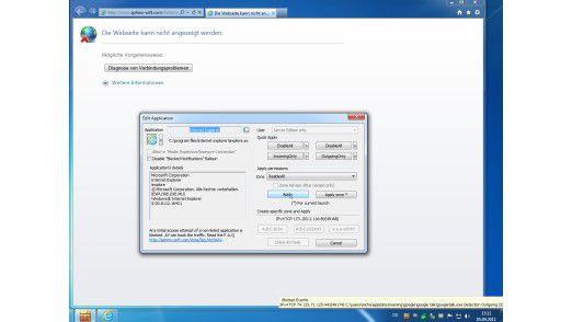 Mit der Windows 7 Firewall Control von Sphinx Software wird die Bedienung der Firewall deutlich übersichtlicher.