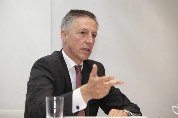 """""""Die Dimension ist hart. Sie betrifft acht Prozent unserer Mitarbeiter."""" Volker Smid, HP-Deutschland-Chef"""