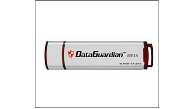 Gadget des Tages: Super Talent USB 3.0 DataGuardian - USB-Stick mit Passwortschutz - Foto: Super Talent Technology