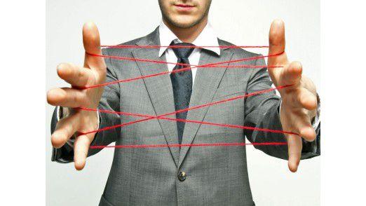 Das Netz mit Kunden und unter Mitarbeitern ist in den vergangenen Jahren immer dichter geknüpft worden. Bei Business-Partnern ist das nicht der Fall.