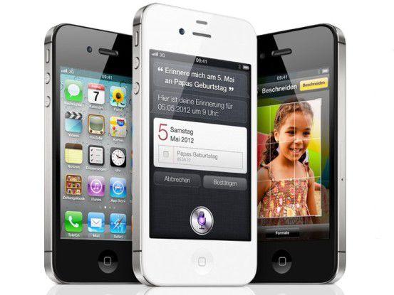 Das iPhone 4S - darauf haben im Q4 wohl viele gewartet...