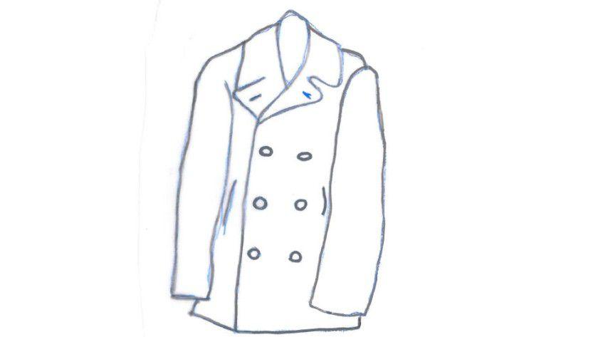 Caban ist Französisch für Regenmantel oder Jacke.