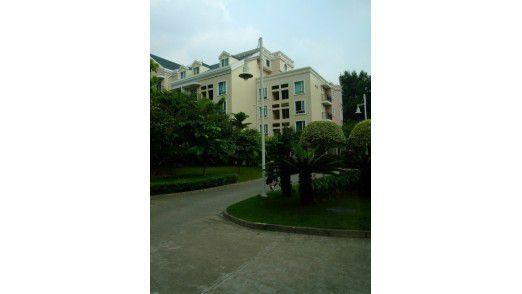 Mitarbeiter-Wohnungen auf dem Huawei-Campus