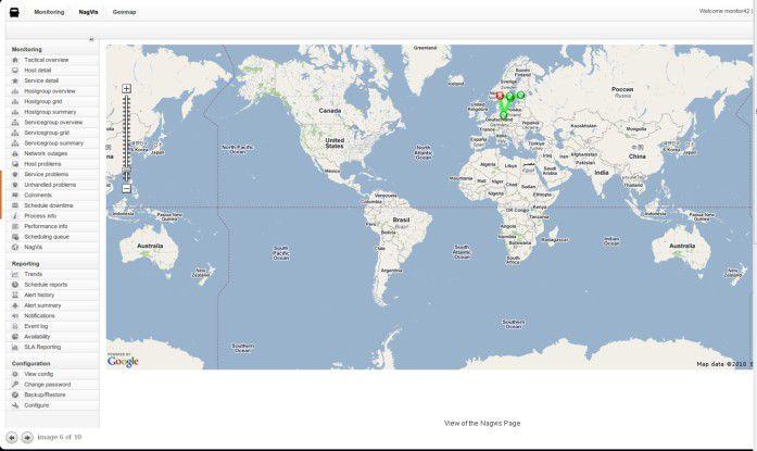 Mit Nagios lassen sich umfassende Überwachungskonsolenaufbauen.