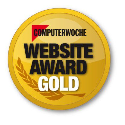 CW Website Award in Gold