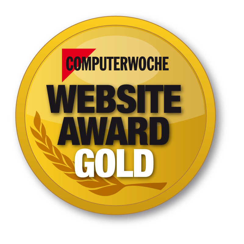 CW Website Award Gold