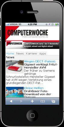 Mobile Websites können leichter über Suchmaschinen gefunden werden.