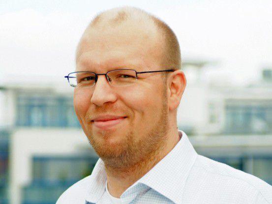 Sören Schaaf, IT-Leiter bei der TAS AG.