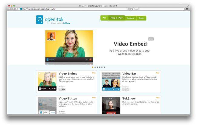 Video-Chat für die eigene Homepage mit Open Tok.