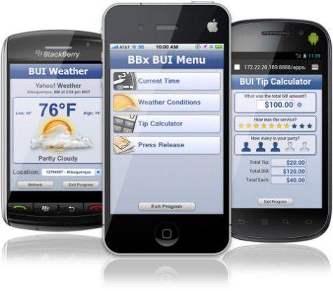 Basis International bietet unter der Marke BBx eigene Softwareanwendungen für Smartphones an.