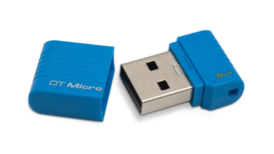 Gadget des Tages: DataTraveler Mini-USB-Speicher von Kingston - Foto: Kingston