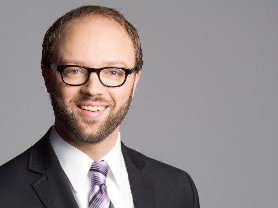 """""""Die Privatssphäre der Mitarbeiter muss der Chef auch im Web akzeptieren"""", betont Tobias Arns, Social Media Experte des Bitkoms."""