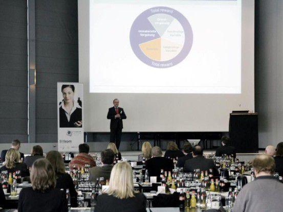 Über 150 Teilnehmer besuchten im Vorjahr den Personalertreff auf der CeBIT.