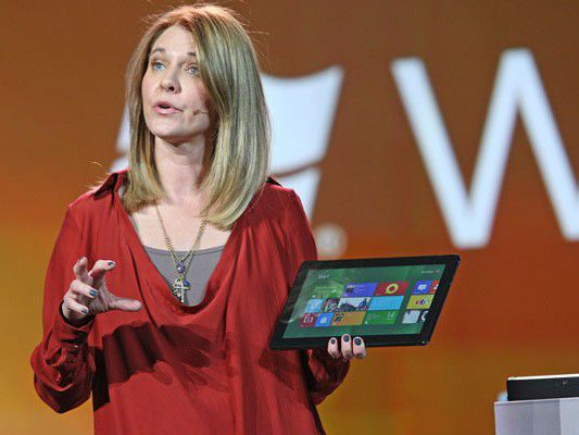 Tablets mit Windows 8 - und Microsoft-Logo?