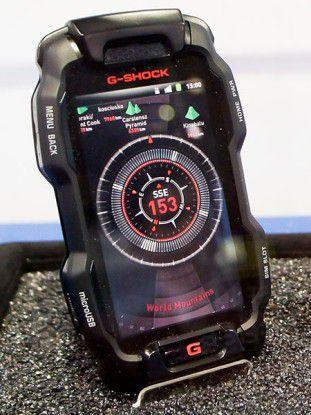 Das G-Shock-Smartphone von Casio