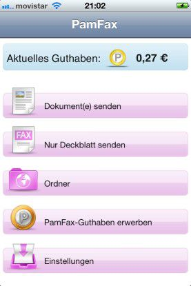 """Wer Faxe nicht nur am Desktop, sondern auch mobil senden und empfangen möchte, der ist mit """"Pamfax"""" gut bedient."""