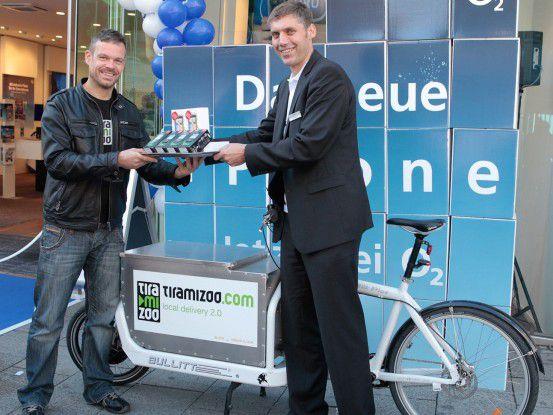 Michael Löhr (links) führt die Tiramizoo-Geschäfte, Johannes Pruchnow ist für die Business-Kunden von Telefónica Germany zuständig.