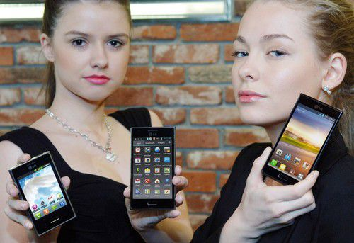 Die drei Modelle der L-Serie von LG Electronics