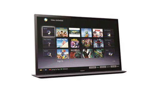 """Ein Sony-Fernseher """"Bravia HX855"""""""