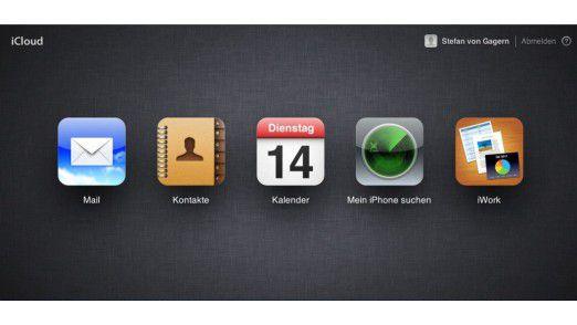 iCloud packt die wichtigste Mac-Software wie iCal für Terminverwaltung komplett und so gut wie auf dem Desktop.