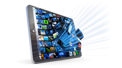 Appstore gegen Google Play: Business-Software für Tablets - Foto: Cybrain/Fotolia