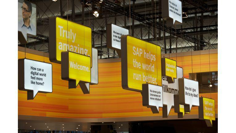 SAP auf der CeBIT.