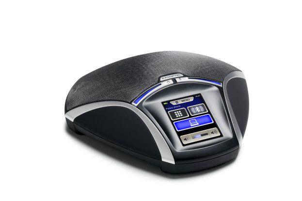 Das Konftel 55W mit Bluetooth und Akku.