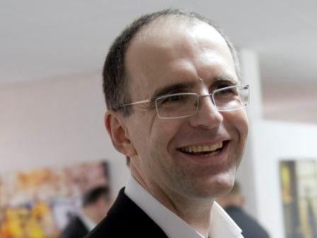 """Peter Flume, Rhetoriktrainer: """"Tablet-Anwendungen bei Vorträgen sind sehr hilfreich - aber der Inhalt muß auch stimmen."""""""