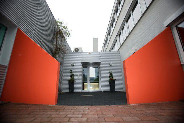 Unbefugter Zutritt verboten – der Eingang zum Rechenzentrum bedarf besonderem Schutz.