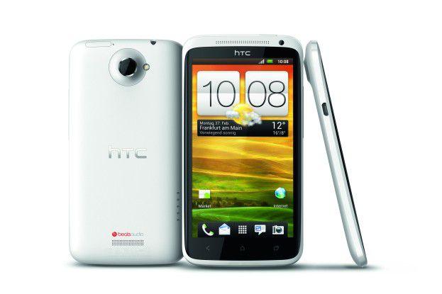Das Highend-Modell HTC One X mit Quad-Core-Prozessor