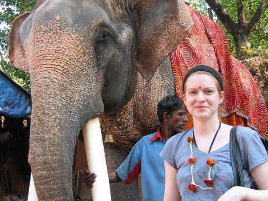 """Christina Butzlaff, Accenture: """"Wann kommt man schon für so eine lange Zeit nach Indien?"""""""