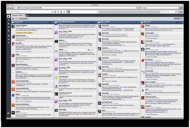 Mit Hootsuite haben Sie Ihre Social-Media-Aktivitäten im Griff.