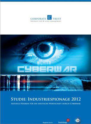 """Die Studie """"Industriespionage 2012"""" möchte darstellen, wie es tatsächlichen um die gefahrenlage in deutschland bestellt ist."""