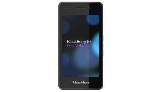 """Kein iPhone, aber auch kein """"richtiger"""" Blackberry: Der Prototyp Blackberry 10 DevAlpha"""