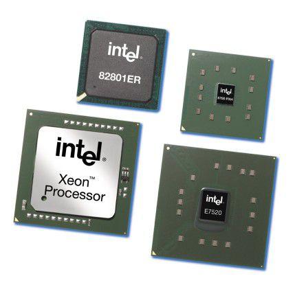 Xeon DP Nocona mit Prescott-Core brachte 2004 schon Taktfrequenzen von bis zu 3,6 GHz.