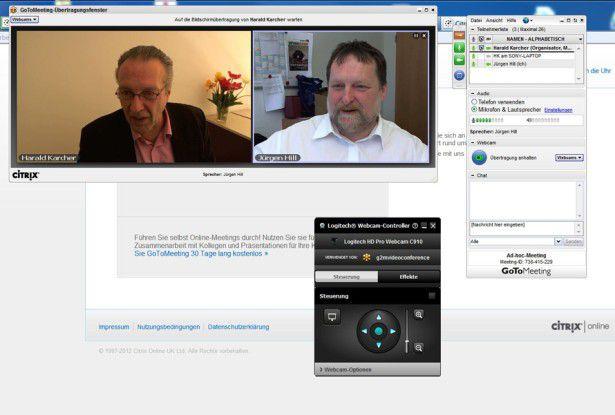 GoToMeeting: Videokonferenz und Web-Collaboration auch für kleine Unternehmen und Mittelständler.