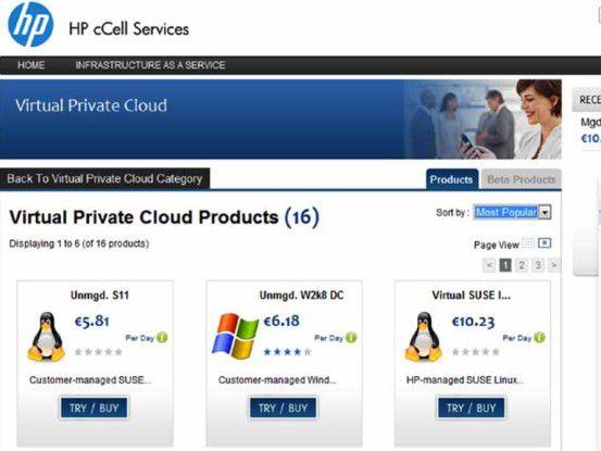 Die cCell Services bieten Zugriff auf Apps in geschlossenen Umgebungen.