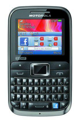 Unterstützt drei SIM-Karten: Das Motorola Motokey 3-Chip