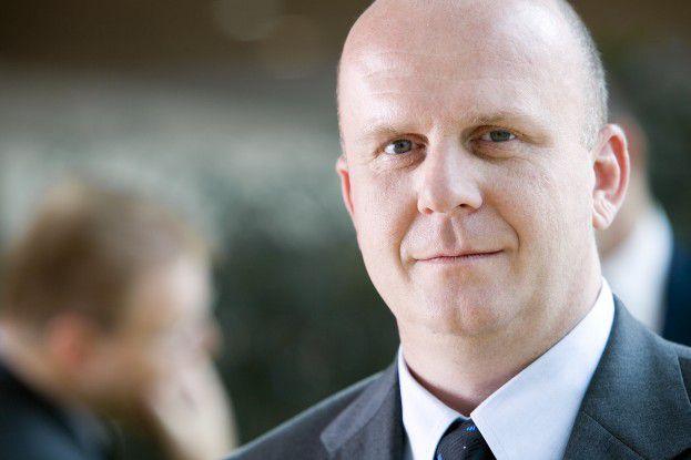 Eckhart Traber, Pressesprecher bei Lancom.