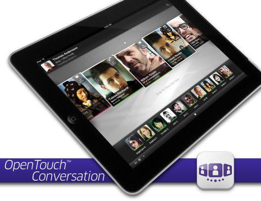 Die interaktive Softwareplattform OTC läuft aktuell nur auf dem Apple iPad - weitere Versionen sind geplant.