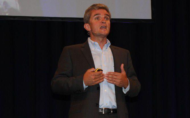 """""""Künftig steht der User im Mittelpunkt und nicht mehr irgendwelchen Geräte."""" Michel Emilianoff, Executive Vice President bei Alcatel-Lucent."""