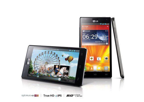 LGs erstes Quad-Core-Smartphone: LG Optimus 4x HD