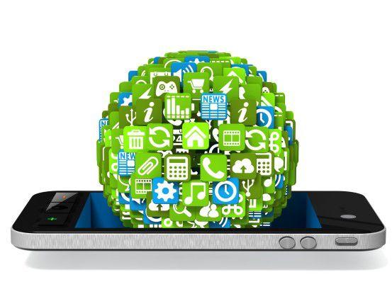 Das Geschäft mit den mobilen Anwendungen wächst nach wie vor.
