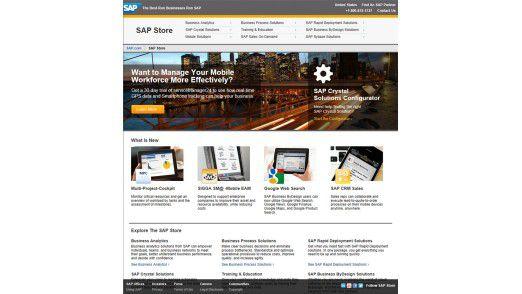 Der Business-App-Store von SAP.