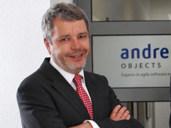 Matthias Grund ist Geschäftsführer der andrena objects GmbH.