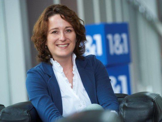 """Verena Amann, 1&1: """"Unsere Softwareentwickler müssen von Anfang an die Marktfähigkeit der Produkte im Auge behalten."""""""