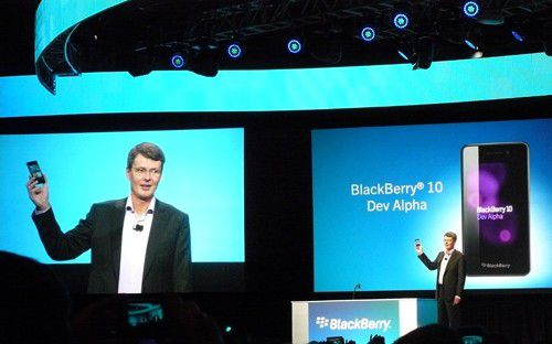 Blackberry-CIO Thorsten Heins sucht nach Optionen.