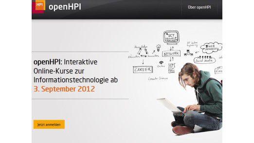 Ab 3. September bietet das Hasso-Plattner-Institut kostenlose IT-Kurse für jedermann an.