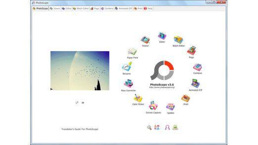 Kostenlose GIF-Animationen mit Photoscape.